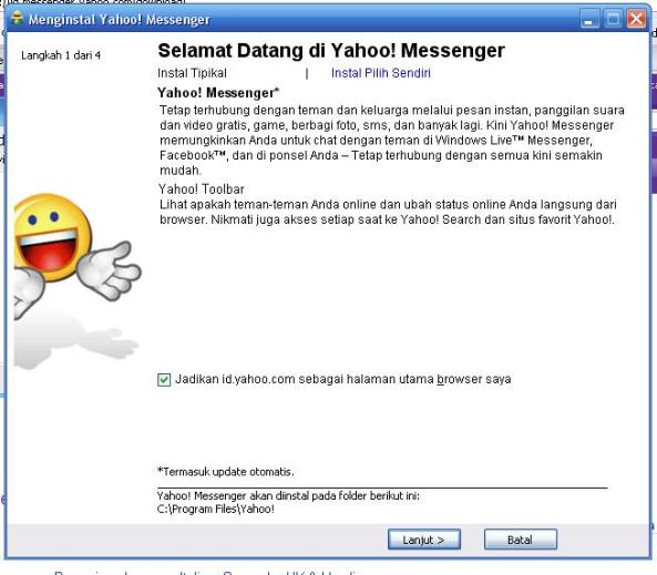 Aplikasi Yahoo! Messenger