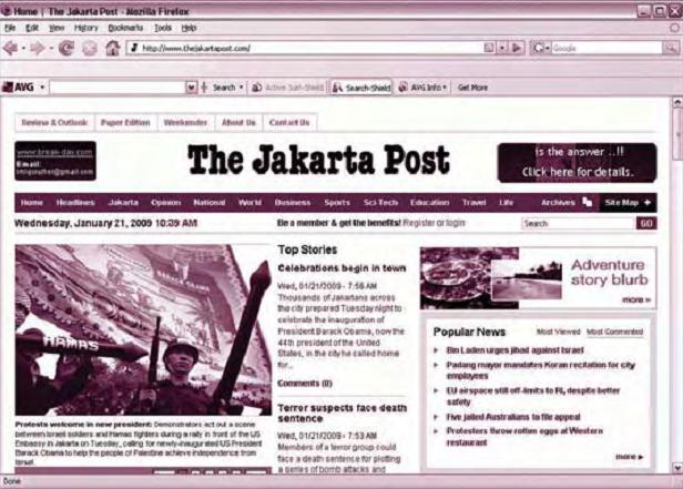 Surat Kabar Online