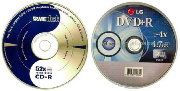 CD-R dan DVD-R