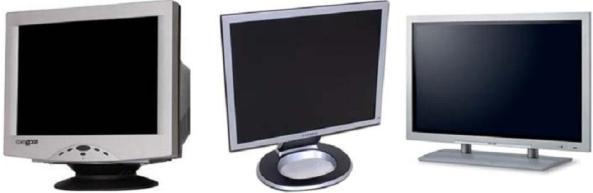 Monitor Tabung (CRT), LCD, dan Plasma