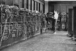 Replika Komputer ENIAC